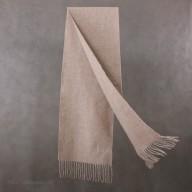 Biege cashmere scarf
