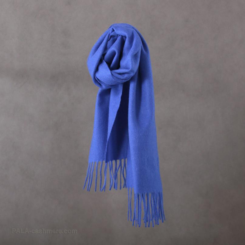 Cashmere blue scarf
