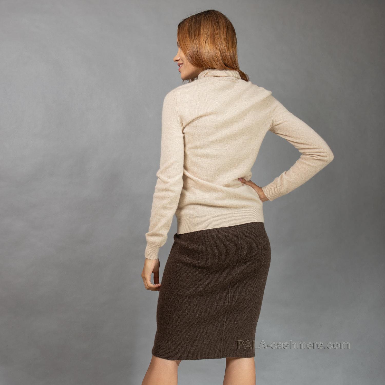 Женский кашемировый тонкий свитер