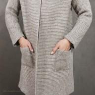 Кардиган из шерсти яка с карманами