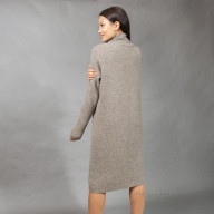 Платье из шерсти яка с карманом