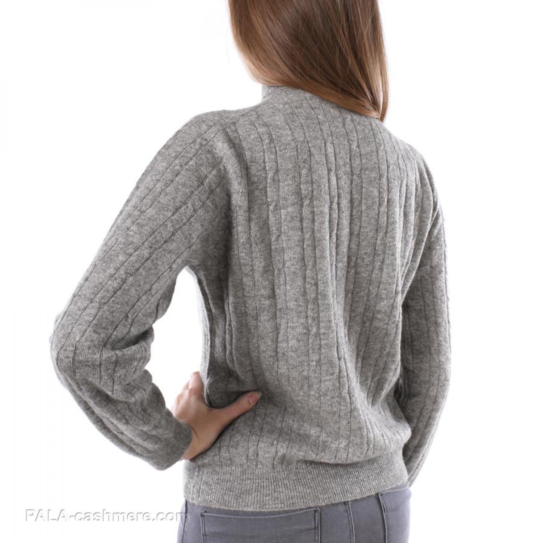 Yak Wool Women's Sweater (pigtail)