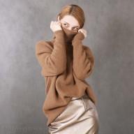 Camel Wool Women's Sweater (free size)
