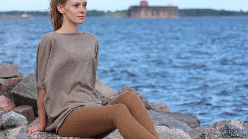 Camel wool leggings - woman's health